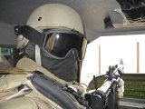 Private Security Contractorr on a Mission in Baghdad, Iraq