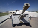 Iraqi Howitzer Sits at the Entrance of the Monument to the Unknown Soldier, Baghdad, Iraq