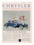 Chrysler, Magazine Advertisement, USA, 1932