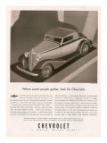 Chevrolet, Magazine Advertisement, USA, 1933