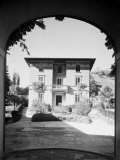 Exerior at Small Villa Built by the Engineer Vittorio Stanzani