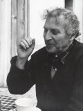 Informal Portrait of Artist Marc Chagall at His Home in France