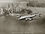 Lockheed Constellation, New York 1950