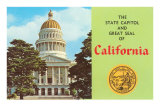 Capitol and Seal, Sacramento