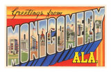 Greetings from Montgomery, Alabama