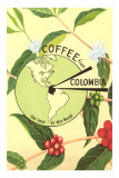 Coffee from Colombia, Map, Berries