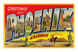 Greetings from Phoenix, Arizona