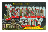 Greetings from Jefferson City, Missouri