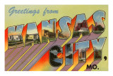 Greetings from Kansas City, Missouri