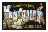 Greetings from New Orleans, Louisiana
