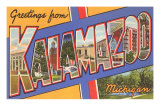 Greetings from Kalamazoo, Michigan