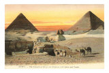 Pyramids and Sphinx, Egypt