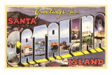 Greetings from Catalina Island, California