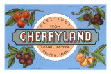 Greetings from Cherryland, Grand Traverse, Michigan