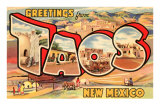 Greetings from Taos, New Mexico