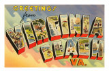 Greetings from Virginia Beach, Virginia