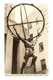 Atlas Statue, Rockefeller Center, New York City