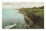 Cliff Walk, Breakers, Newport, Rhode Island
