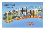 Greetings from Charleston, South Carolina
