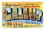 Greetings from Gallup, New Mexico