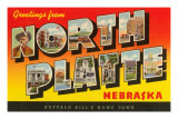 Greetings from North Platte, Nebraska
