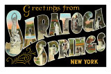 Greetings from Saratoga Springs, New York