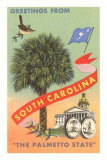 Greetings from South Carolina, The Palmetto State