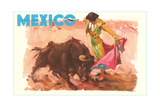 Bullfight Poster, Mexico