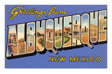 Greetings from Albuquerque, New Mexico