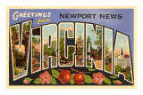 Greetings from Newport News, Virginia