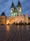 Old Town Square and the Church of Our Lady before Tyn, Old Town,Prague, Czech Republic