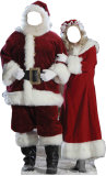 Santa & Mrs. Claus Stand In Stand Up