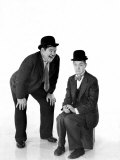 Laurel and Hardy Premium Poster