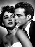 Place in the Sun, Elizabeth Taylor, Montgomery Clift, 1951 Premium Poster