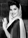 Prince Valiant, Debra Paget, On-Set, 1954