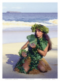 Patience, Hula Girl, Maui, Hawaii