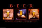 Beer Served Poster