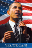 Barack Obama - Yes We Can Poster