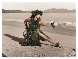 Dance of the Turtle, Hawaiian Hula Dancer