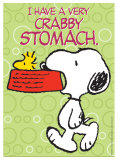 Peanuts - Crabby Stomach