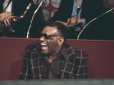 Ray Charles Laughing Premium Poster