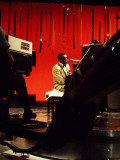 Ray Charles Filming for the BBC Premium Poster