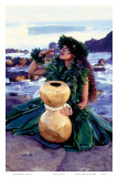 Grateful, Hula Girl with Ipu Drum, Hawaii