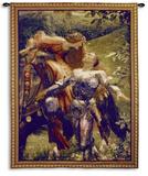 La Belle Dame Sans Merci Wall Tapestry