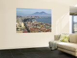 Mt. Vesuvius and View over Naples, Campania, Italy