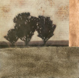 Textured Sepia Landscape II