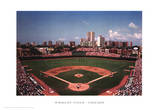 Wrigley Field, Chicago Art Print