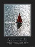 Attitude: Sailing Art Print
