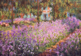 The Artist's Garden at Giverny, c.1900 Art Print