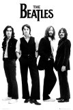 The Beatles - White Poster